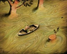 70 amazing paintings by the surrealist artist Vladimir Kush who also being called Russian Salvador Dali Vladimir Kush, Salvador Dali Gemälde, Salvador Dali Paintings, Surrealism Painting, Artist Painting, Fantasy Kunst, Ouvrages D'art, Illustration, Magritte