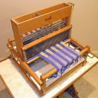 Weaving: I have the loom, just need to re-learn to warp and make the time.
