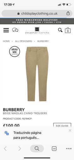 Kids Fashion Boy, Mini Me, Khaki Pants, Trousers, Beige, My Style, Boys, Clothes, Chinese