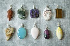 ¿Te gustan estos colgantes de #PiedrasNaturales? En #Expominer2015 aprenderás a diseñarlos en los talleres #Handmade