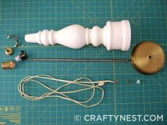 Rewire an old lamp