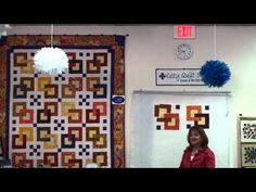 ▶ Olympia- Strip Pattern by Cozy Quilt Designs(R) - YouTube
