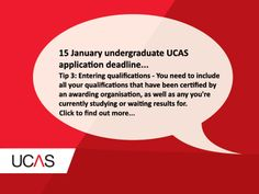 Tip 3: Entering your qualifications... #UCAS