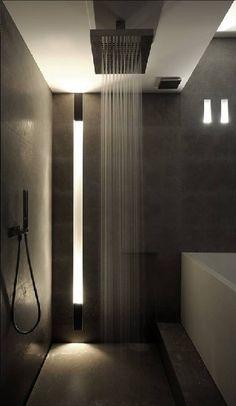 waterfall shower if matt doesnt like the pod shower