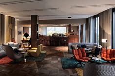 Das Stue Hotel Interior by Patricia Urquiola and LVG Arquitectura in Berlin, Germany