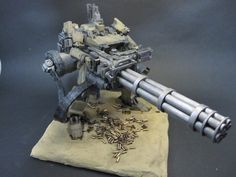 "Armored Core ""Sunshine-L"" w/Gatling Gun: Custom Work w/Diorama. Photoreview No.10 Full Size Images"