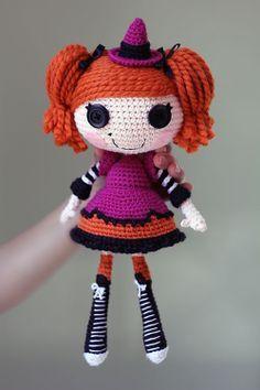 free lalaloopsy crochet pattern | ... patterns > Epic Kawaii's patterns > Lalaloopsy Candy Broomsticks Doll