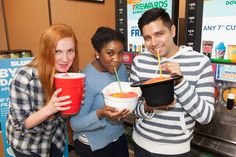 """7-Eleven is kicking off Slurpee season this Saturday with BYO Cup Day.  That means you can bring your beakers, goblets, jars or anything else that could be even remotely considered a cup to 7-Eleven and fill it with Slurpee deliciousness. Between 11 a.m. and 7 p.m. on Saturday, it will cost you $1.49 to fill up a """"Slurpee"""" cup of your choice, regardless of size."""