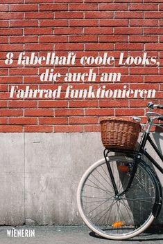 Schön und fahrradtauglich muss kein Widersruch sein: Diese Outfits können beides. Power Dressing, Marie Von Behrens, Cooler Look, Bicycle, Trends, Outfits, En Vogue, Short Skirts, Medium Long