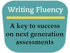 """Writing Fluency: A Key to Success"" -- using power writing to build fluency. Step-by-step how to @Teaching Channel"