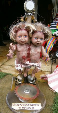 For the Freak Show Conjoined Twins CarnEvil
