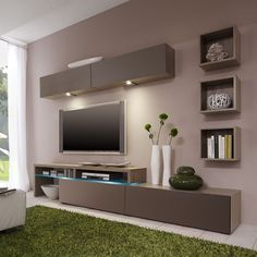 Modern tv wall unit modern cabinet wall unit living room living room by design modern tv . modern tv wall unit modern wall units for living room Living Room Tv Cabinet, Living Room Tv Unit, Wall Unit Designs, Tv Unit Design, Tv Rack Design, Hall Design, Corner Designs, Living Room Modern, Living Room Designs