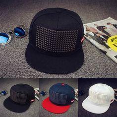 5 colors baseball cap hat hip hop cap flat-brimmed 1857430a7c73