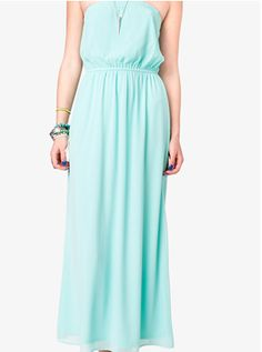F21 Strapless maxi dress $14.90