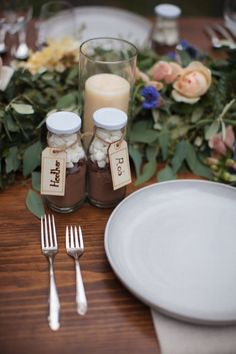 The details of this California wedding are the perfect inspiration for your rustic wedding.