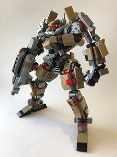 Lego Bots, Lego Mechs, Super Robot, Lego Design, Lego Projects, Lego Stuff, Lego Ideas, Lego Creations, Sci Fi Art