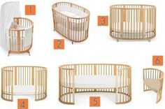 Stokke Sleepi Convertible Crib grows with your child – Sustainable design for the modern home!