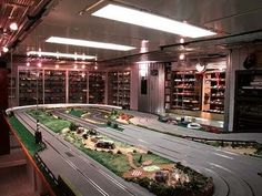 Awesome Cars hacks 2017: Awesome Cars hacks 2017: Model Car Room. Slot car racetrack lowers from ceiling....  Cars World Check more at http://autoboard.pro/2017/2017/04/11/cars-hacks-2017-awesome-cars-hacks-2017-model-car-room-slot-car-racetrack-lowers-from-ceiling-cars-world/