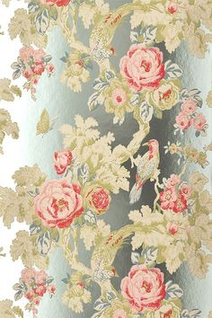 Anna French wallpaper; to die for! pinned with #Bazaart - www.bazaart.me