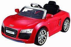 Red Audi R8 Spyder 12V Electric Car For Kids