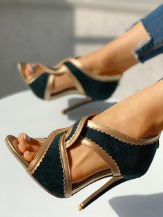 Women's Sexy Fashion Pumps/Heels Online Shoppifcang at Divasruby Women's Shoes, Cute Shoes, Me Too Shoes, Shoe Boots, Teen Shoes, Flat Shoes, Dress Shoes, Sandals Outfit, Shoes Sneakers