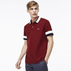 Lacoste polo Edition Made In France Regular fit in petit piqué Jeans Polo, Polo Tees, Polo Shirt, T Shirt, Lacoste Polo, Camisa Polo, Shirt Designs, Menswear, Mens Fashion