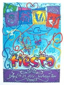 "Fiesta  - Every April; what a wonderful city ""party with a purpose"" to benefit local charities & non-profits"