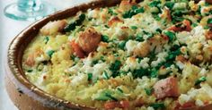Pripravte si recept na Zapekaný kuskus s nami. Zapekaný kuskus patrí medzi najobľúbenejšie recepty. Zoznam tých najlepších receptov na online kuchárke RECEPTY.sk. Guacamole, Quinoa, Mashed Potatoes, Food And Drink, Rice, Healthy Recipes, Homemade, Meals, Cooking