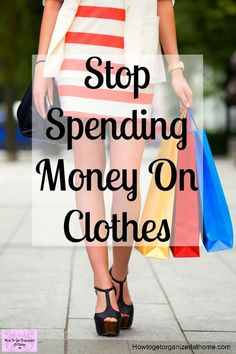 Can you make huge savings on clothes shopping? Yes, if you know what you want and can control those impulse purchases that you never wear! You could even sell your clothes you no longer wear! #moneymatters #debt #cash