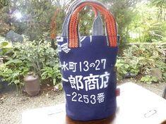 帆前掛けのバッグが100個 完成しました! : 古布工房 小手毬