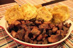 Simply Rice and Beans: Fried Pork Chunks (Masitas de Cerdo Frita)
