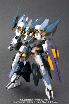 MECHA GUY: [Kotobukiya] 1/100 Frame Arms: Extend Arms 02 (YSX-24 Basflard) - Promo Image Zoids Toys, Armored Core, Arm Art, Frame Arms, Custom Gundam, Mecha Anime, Mechanical Design, Gundam Model, Custom Framing
