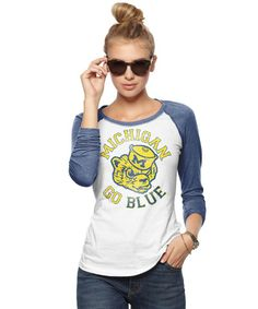 Michigan Wolverines Women's Jersey - may as well get used to this, since I might end up here.
