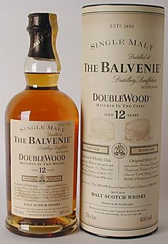 Whiskey Jim's Ramblings: Oh Taste & See: The Balvenie DoubleWood 12 Year Old Single Malt Scotch