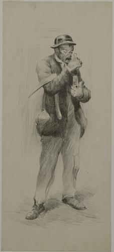 Belgische mijnwerker - Herman Heijenbrock (1890)