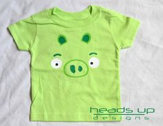 Hey, I found this really awesome Etsy listing at http://www.etsy.com/listing/161918087/baby-angry-bird-pig-onesie-angry-bird