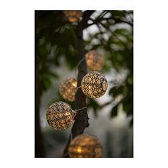 IKEA - SOLVINDEN, Valosarjan koriste, , Tarkoitettu valosarjan koristelemiseksi ajankohtaan sopivaksi. Mahdollista irrottaa ja vaihtaa toisenlaiseen.