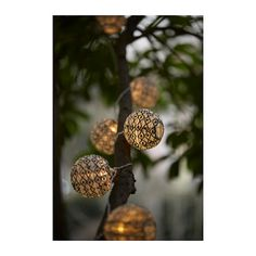 IKEA - SOLVINDEN, Decoration for light chain, , You can use these decorations to personalize your light chain to match the season or your style – and change them any time you like.