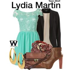 Inspired by Holland Roden as Lydia Martin on Teen Wolf.