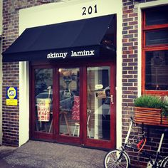 Skinny LaMinx shopfront on Curate this Space