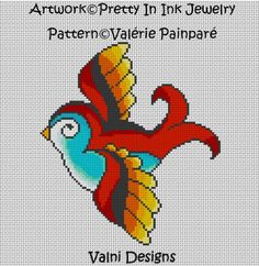 Tattoo Style BirdArtwork from Pretty In Ink par ValniDesigns, $10.00