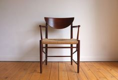 Danish paper cord armchair