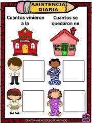Resultado de imagen para registro de asistencia para preescolar