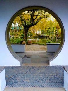 Garden Frame... Classical Chinese Garden !!!