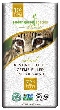 Almond Butter Creme Filled Dark Chocolate