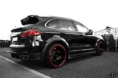 Porsche Cayenne. Would be PERRRRFECT for the fam.