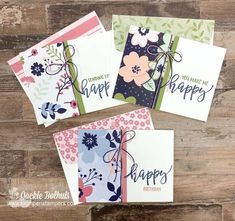 Fabric Cards, Paper Cards, Birthday Cards For Women, Stamping Up Cards, Pretty Cards, Cool Cards, Flower Cards, Creative Cards, Homemade Cards