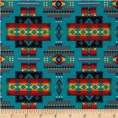 Tucson Blanket Turquoise