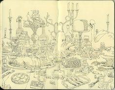 Mattias Inks: SKETCHBOOKS