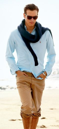 Everything about this outfit is on point! Summer outfit for men :)